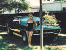 71 Plymouth GTX with pretty lady